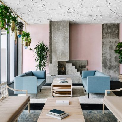 Mid Century Tower Becomes Line Austin Hotel With Interiors By Sean Knibb