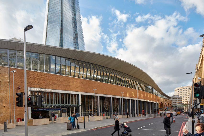 London Bridge Station refurbishment by Grimshaw