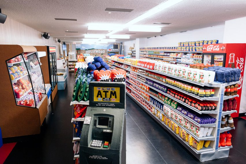 Lucy Sparrow's LA supermarket is stocked with 31,000 felt groceries