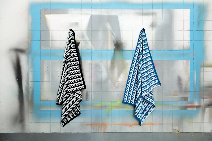 Transit Travel Blanket by Jennifer Kent
