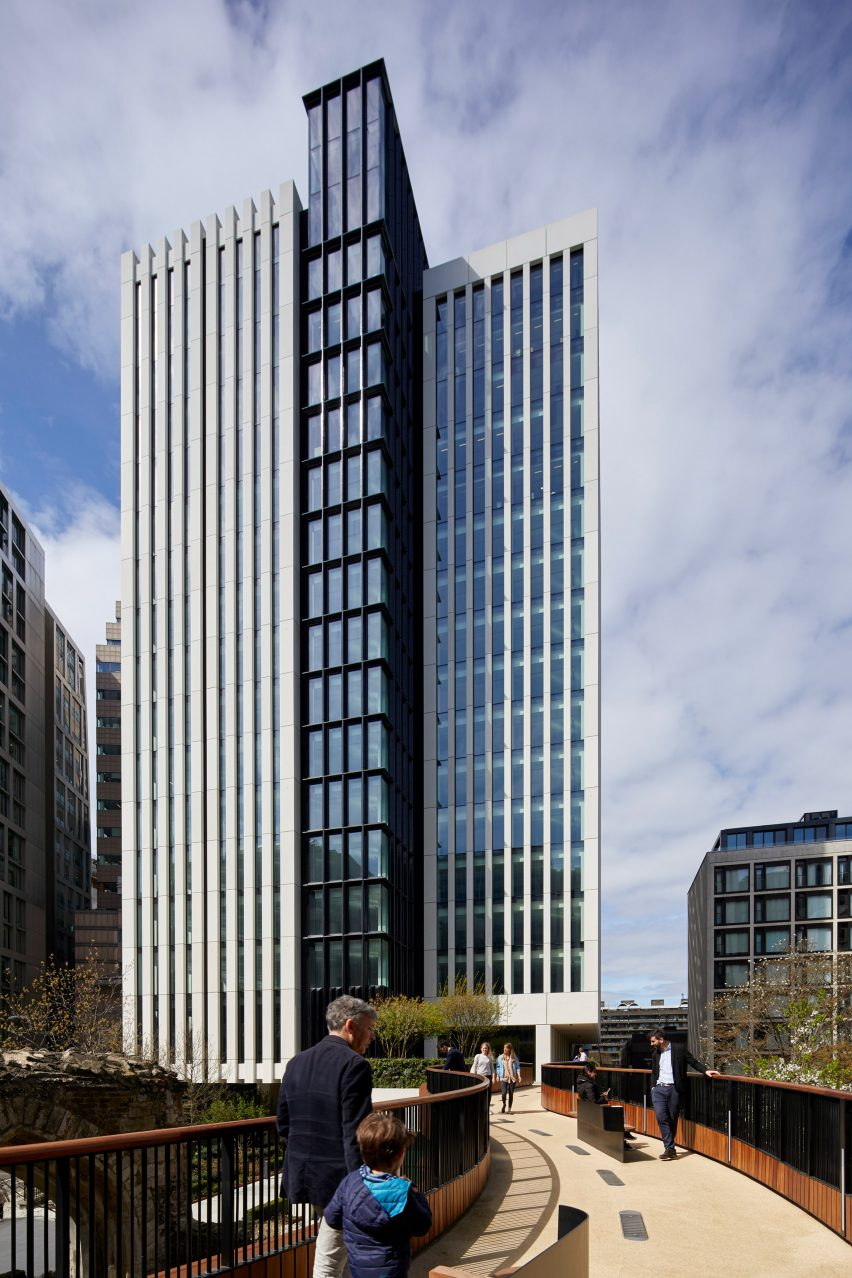 London Wall Place by Make