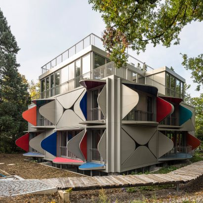Ballet Mecanique by Manuel Herz Architects