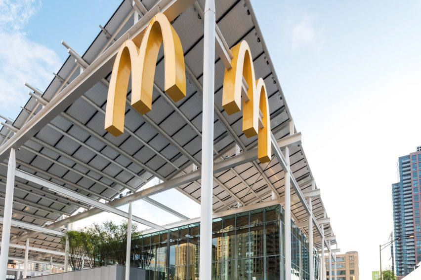 McDonald's Chicago by Ross Barney Architects