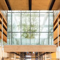 Chicago McDonald's by Ross Barney Architects draws comparisons to Apple stores