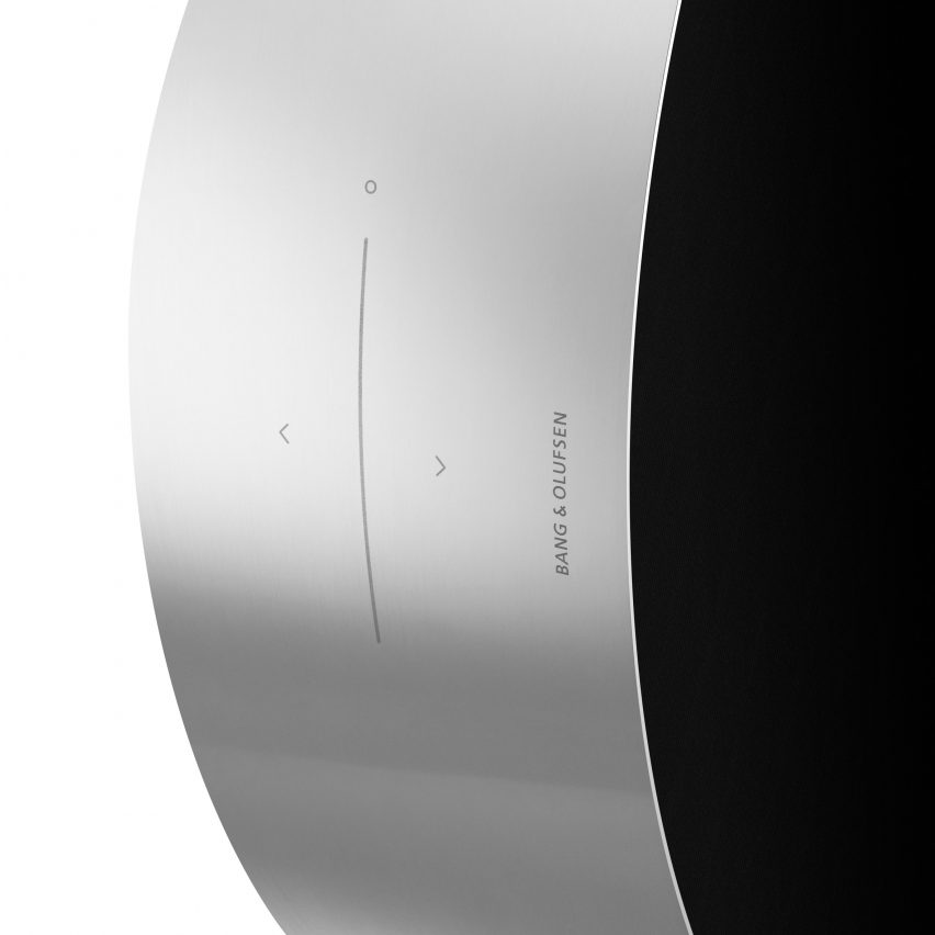 Michael Anastassiades designs Bang & Olufsen speaker you adjust by rolling