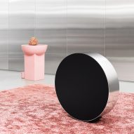 Michael Anastassiades designs Bang & Olufsen speaker you adjust by rolling