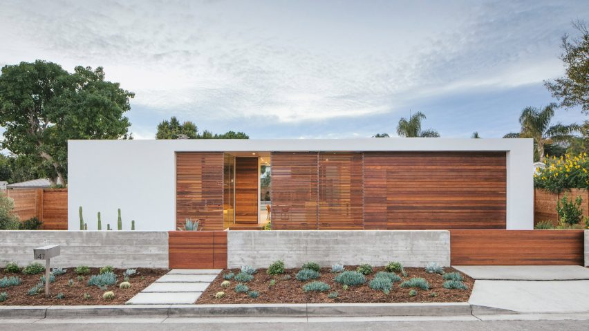Anacapa Architecture creates minimalist residence for entrepreneur in Santa Barbara