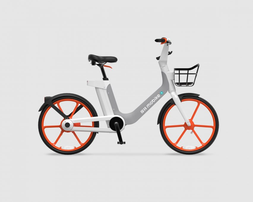 Mobike launches electric bike for dockless sharing