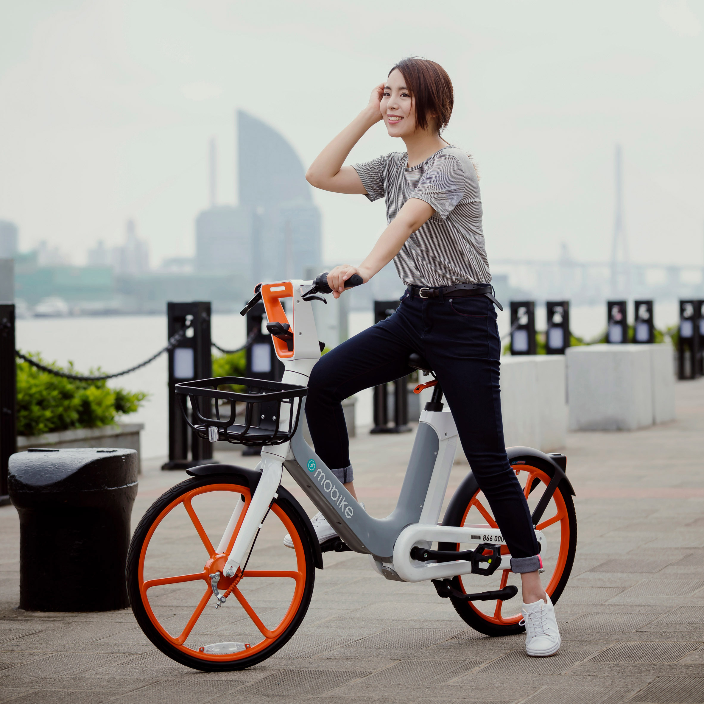 ecd09a1fb74 Mobike launches electric bike for dockless sharing