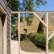 Mount Grace Priory cafe by MawsonKerr