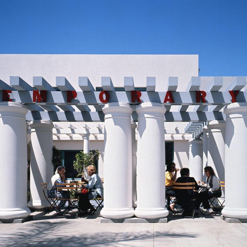Museum of Contemporary Art San Diego colonnade by Venturi Scott Brown