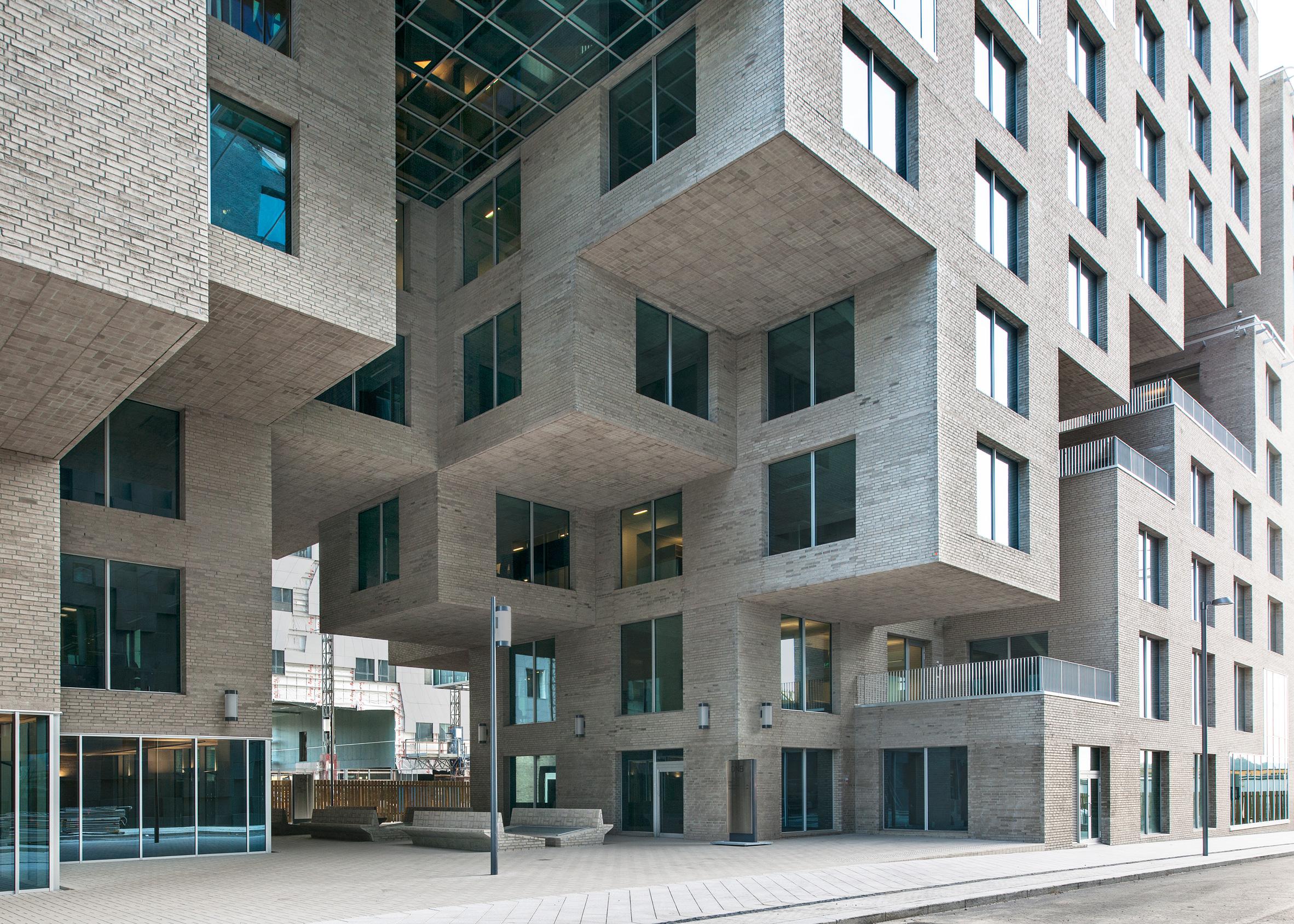 DNB Bank Headquarters by MVRDV, Oslo, Norway