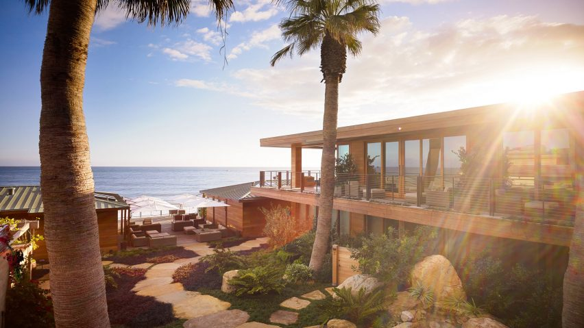 Nobu Ryokan Malibu, Malibu, California, by Studio PCH and Montalba Architects