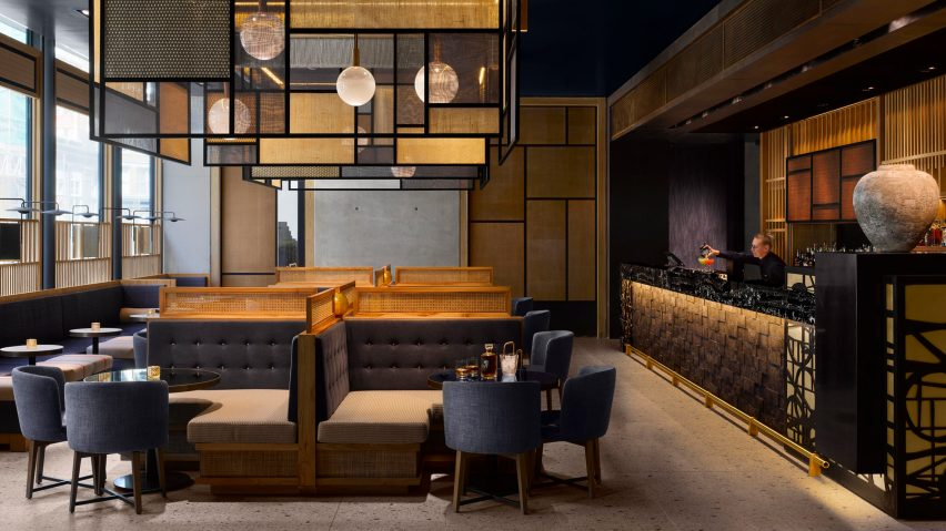 Nobu Hotel Shoreditch, London, UK, by Studio Mica