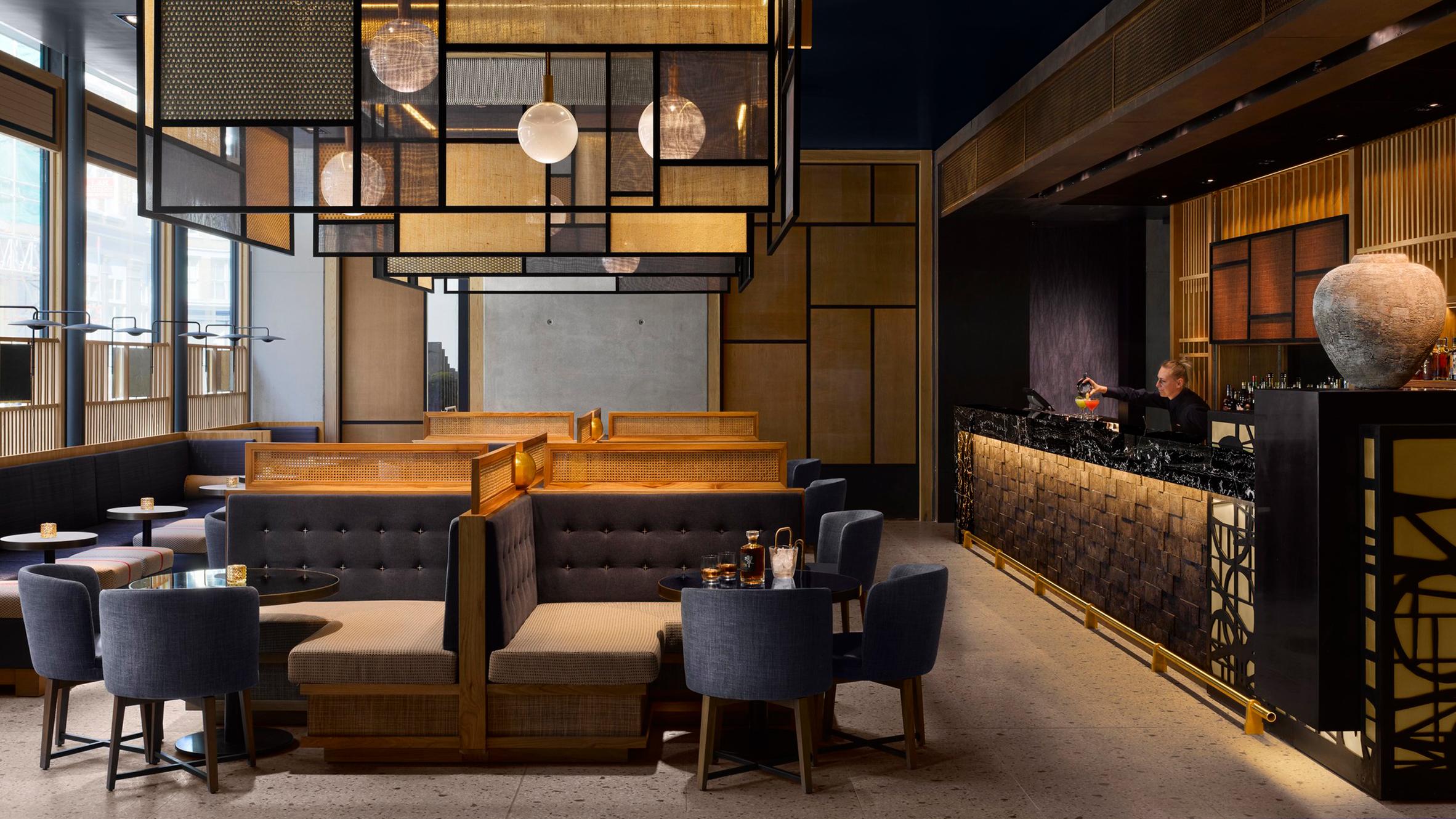 Nobu Hotel Shoreditch, London, UK, by Studio Mica