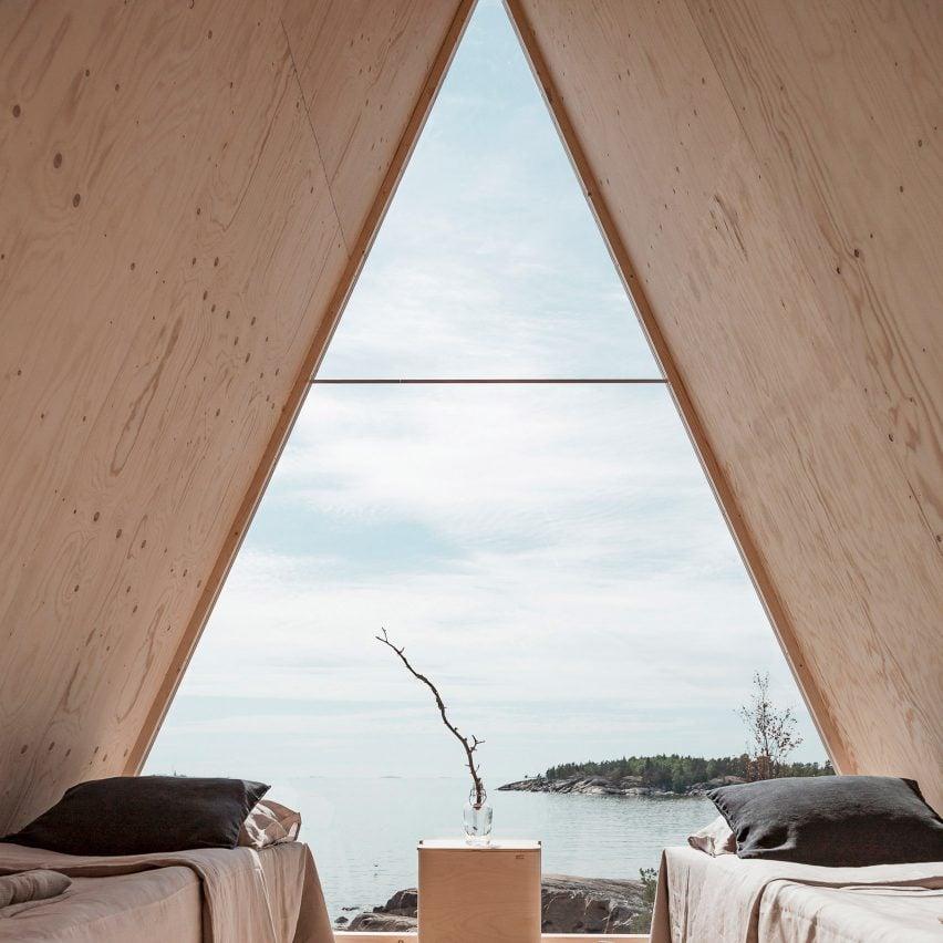 Nolla cabin by Robin Falck