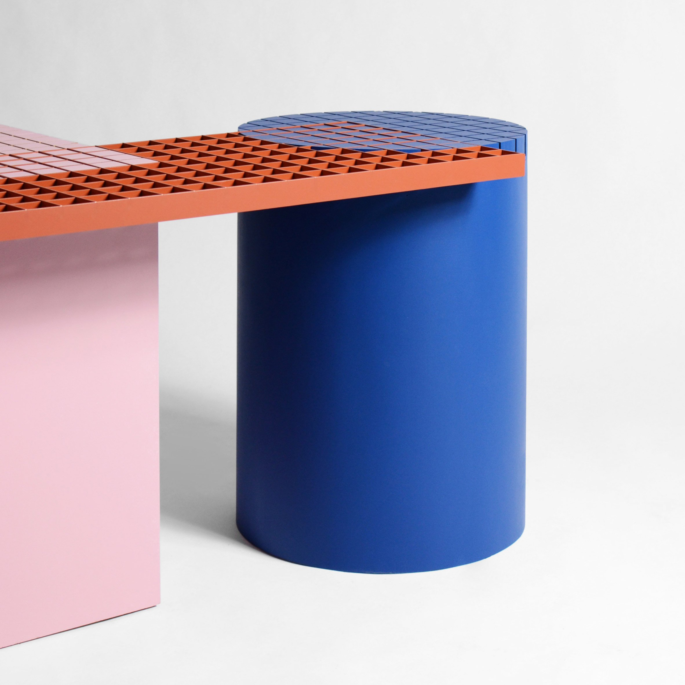 Urban Design Meubels.Urban Shapes Is A Colourful Geometric Bench By Nortstudio