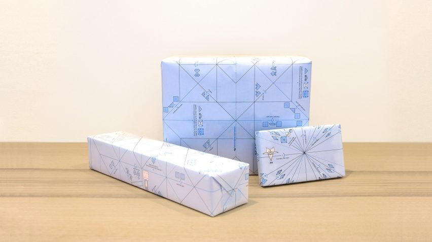 Origami wrapping paper by Ilovehandles