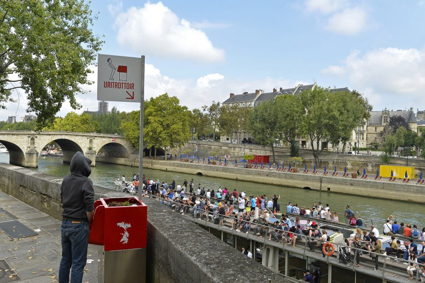 Urinals in Paris's historic centre cause uproar