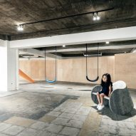 Playscape by Mikiya Koboyashi encourages adults and children in Tokyo to play