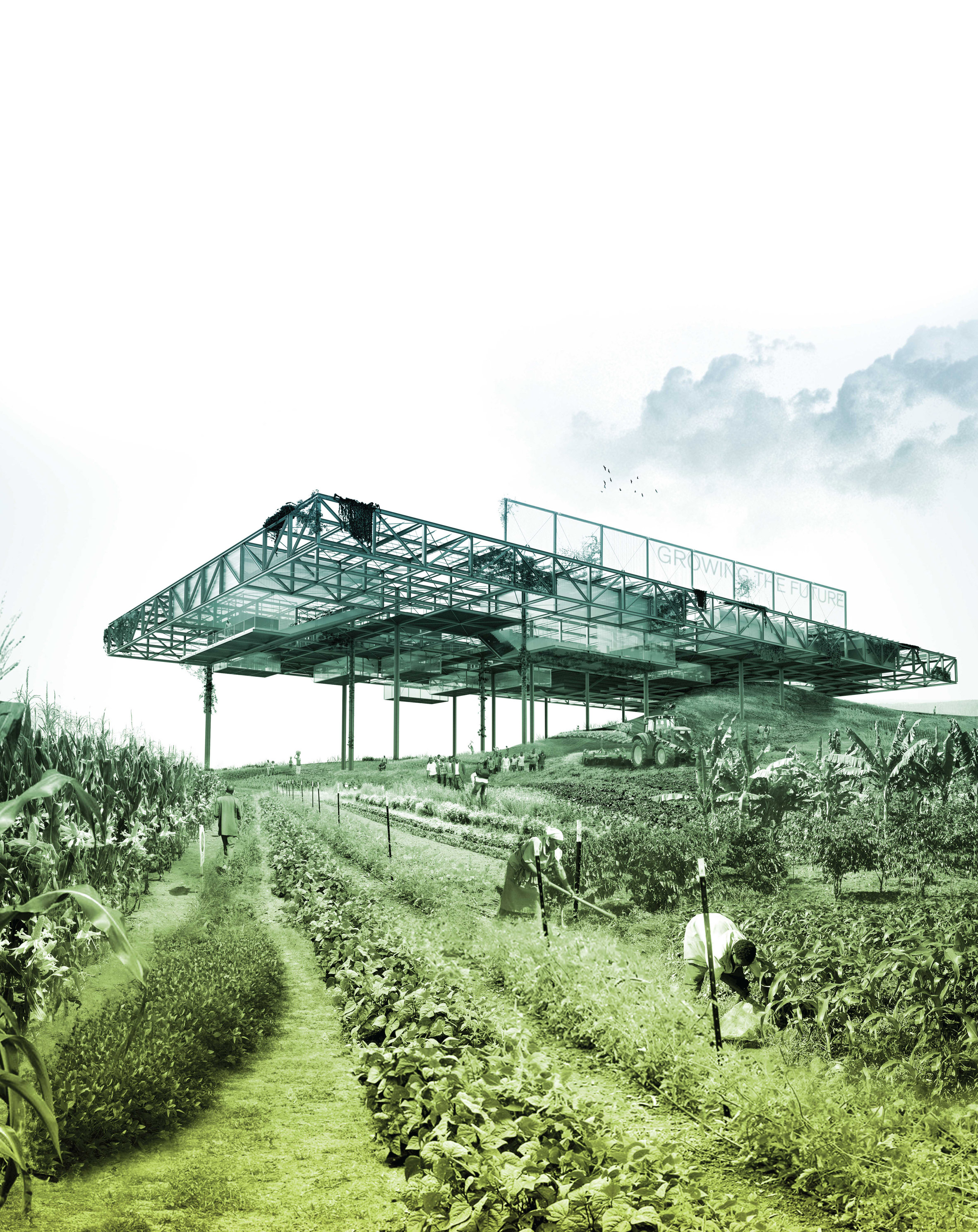 Productive Landscapes Tanzania Seed Vault by Sean Cassidy