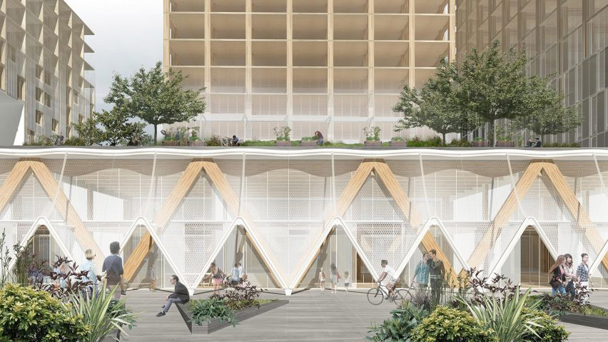 "Sidewalk Labs unveils design for neighbourhood in Toronto ""future city"""