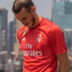 575a0812d6d61 Adidas uses ocean plastic for coral-coloured Real Madrid kits