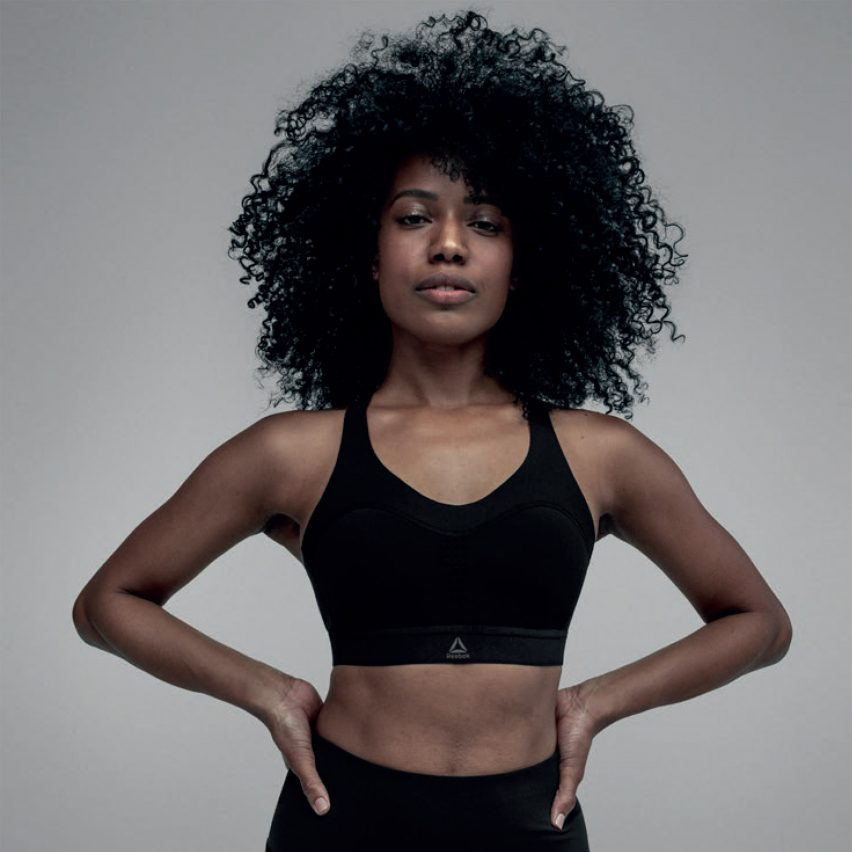 Reebok's gel-infused PureMove sports bra firms up in response to movement