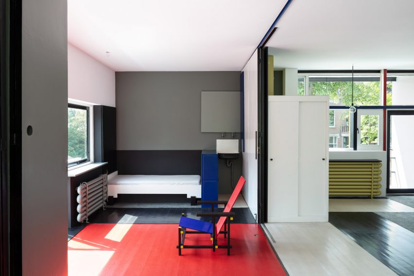 Rietveld Schröder House photographed by Stijn Poelstra