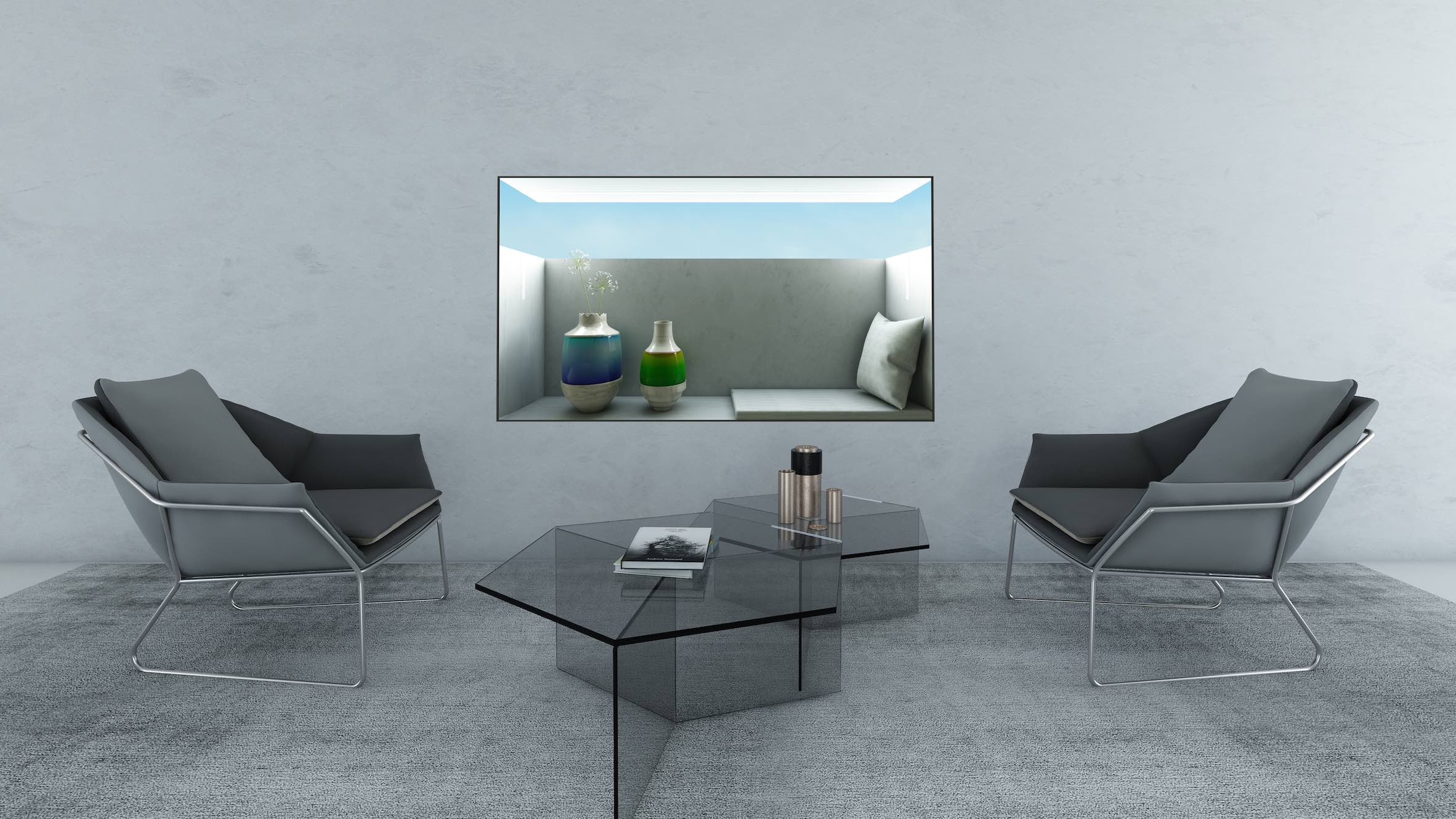 Architectural Extension is on the longlist for the Dezeen x Samsung TV Ambient Mode design competition