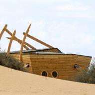 Shipwreck Lodge by Nina Maritx Architects