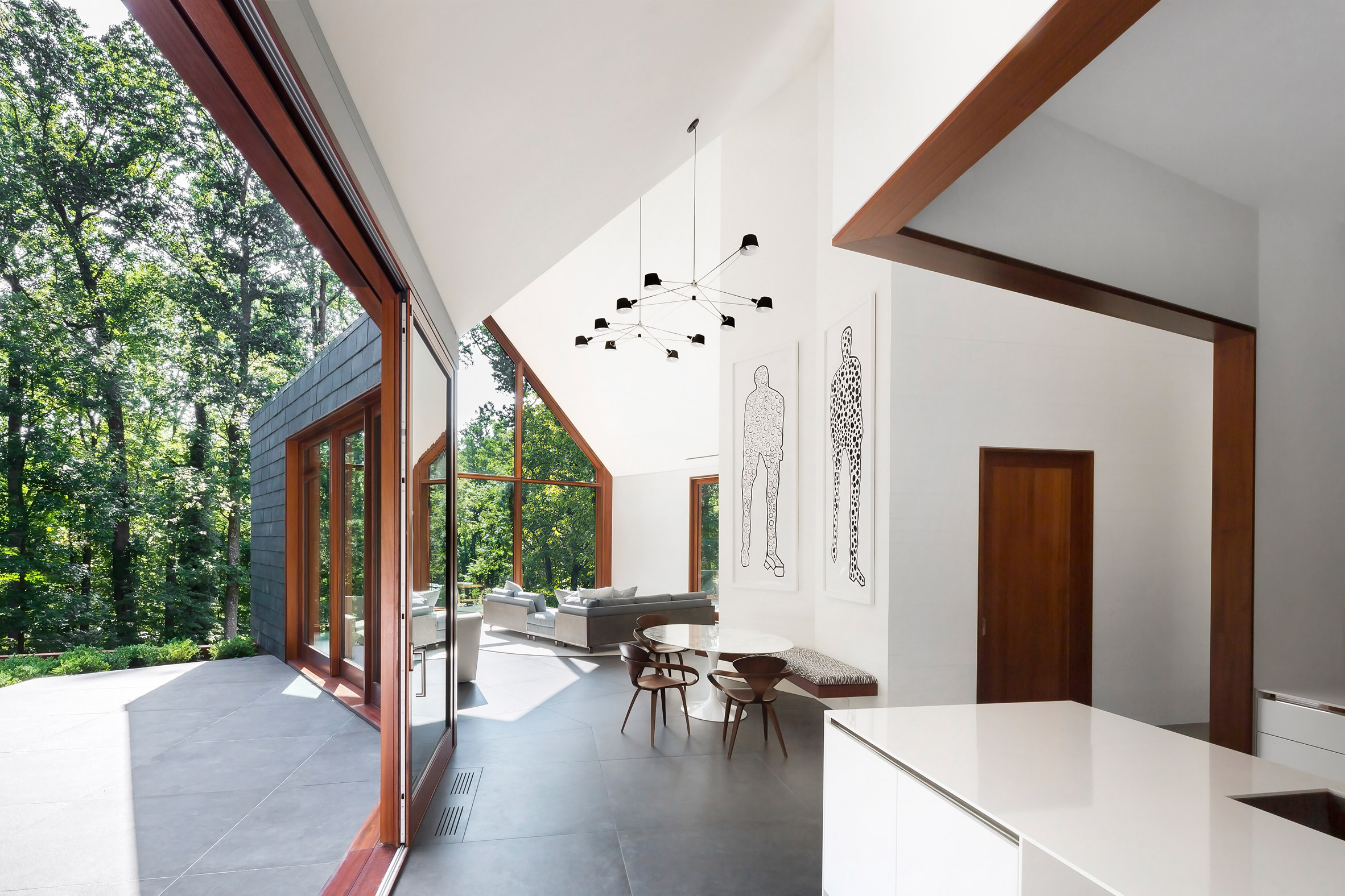 Slate House by Ziger Snead replaces fire-ravaged Maryland home ...