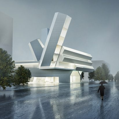 Steven Holl to overhaul University College Dublin with design referencing Giant's Causeway