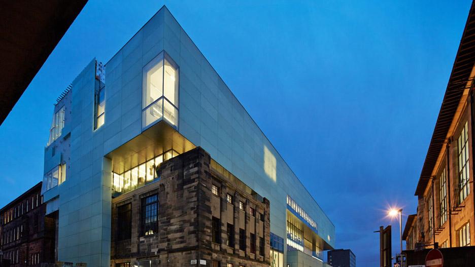 Glasgow School of Art Reid Building by Steven Holl