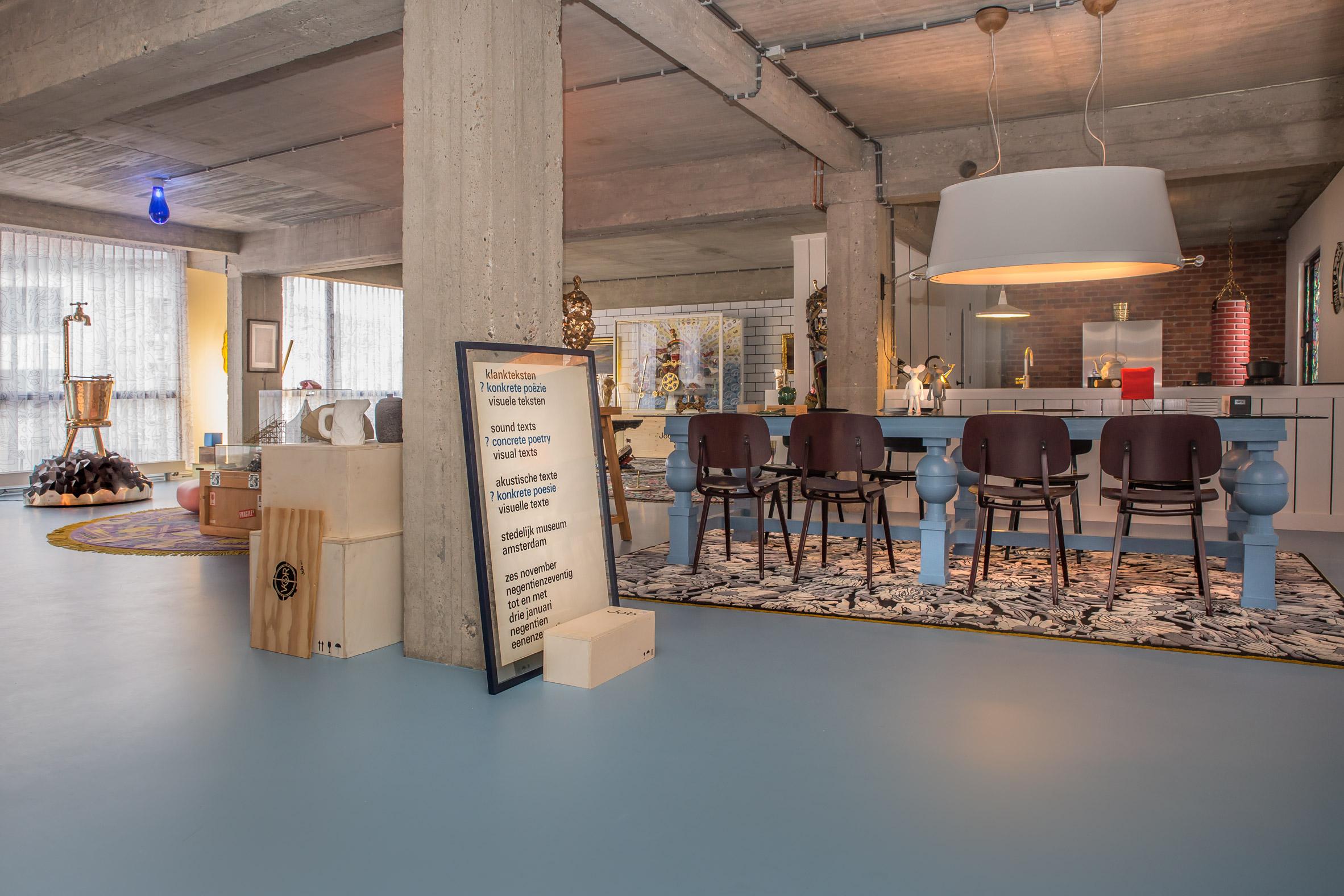 Interior Design Studio Amsterdam studio job opts for maximalism inside new antwerp