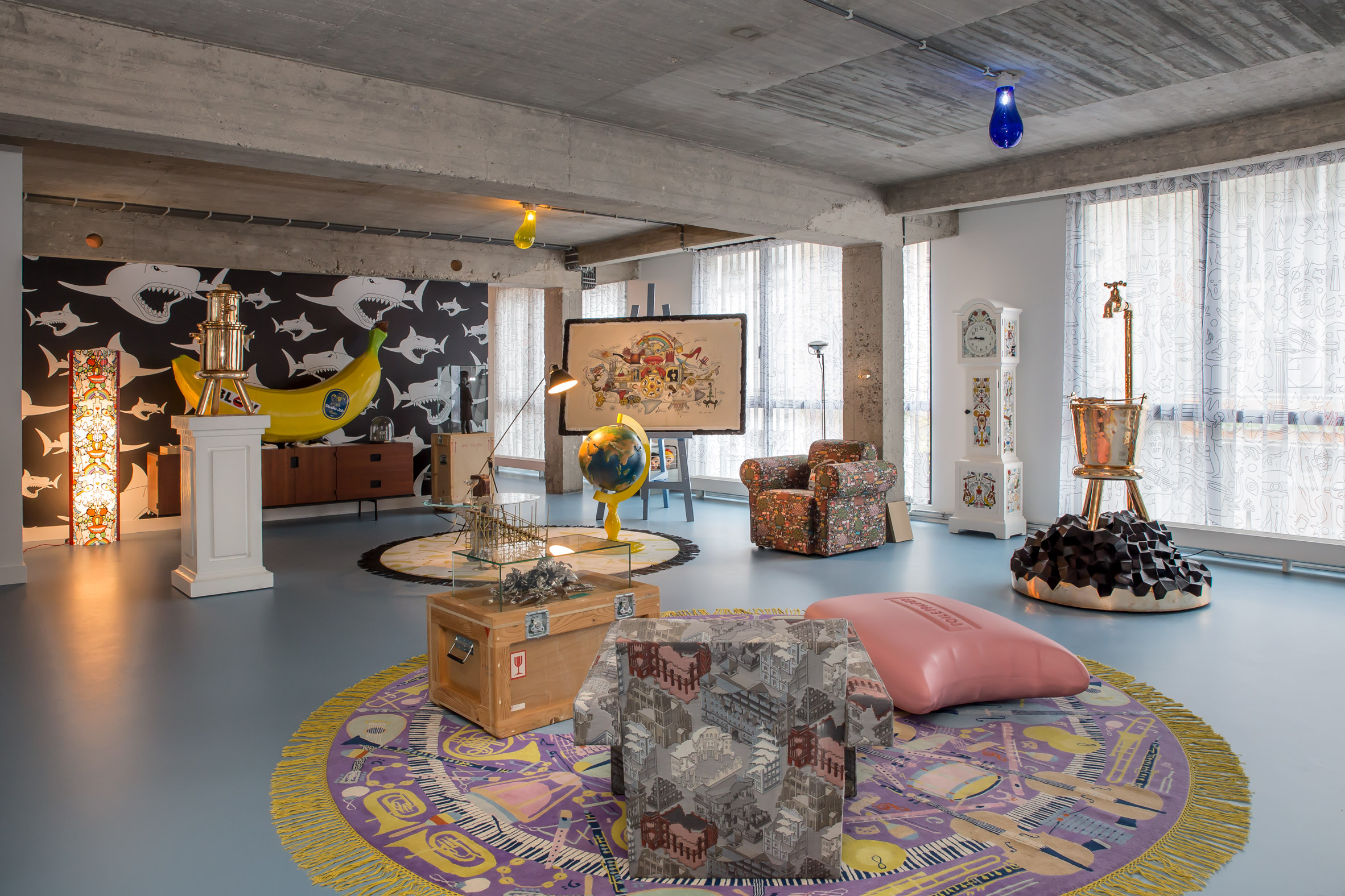 Studio Job opts for maximalism inside new Antwerp headquarters