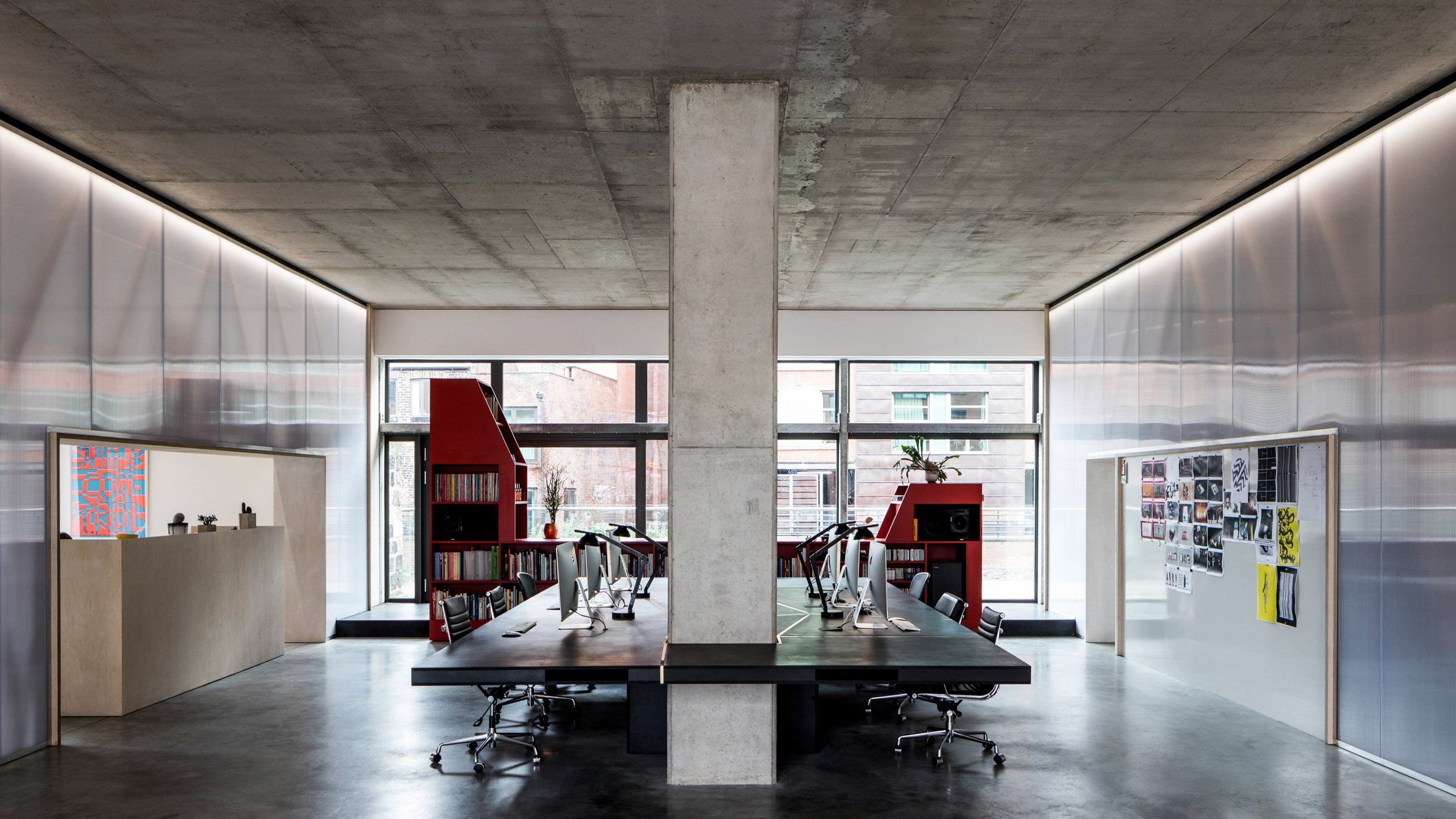 Teatum Teatum Transform 18th Century Iron Foundry In Sheffield Into Pared Back Offices