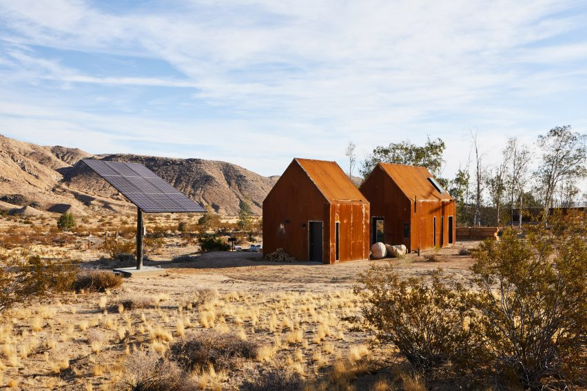 The Folly Cabins by Malek Alqadi and Hillary Flur