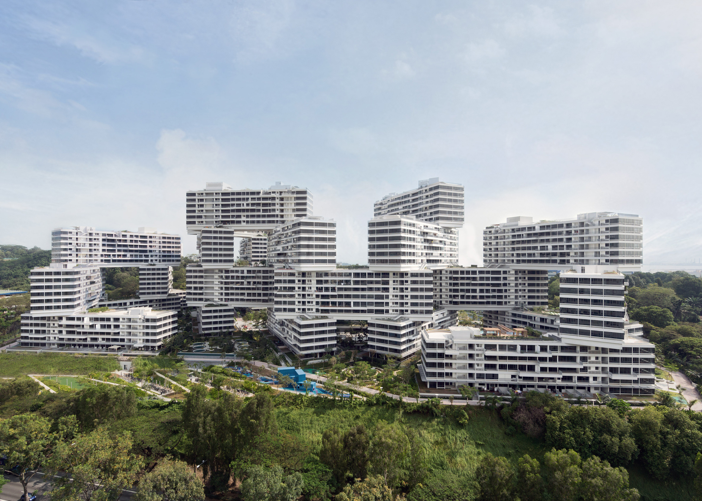 The Interlace by Buro Ole Scheeren, Singapore