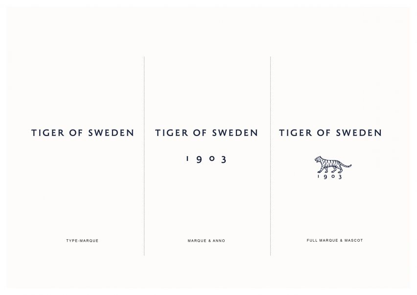 Tiger of Sweden redesign by A New Archive