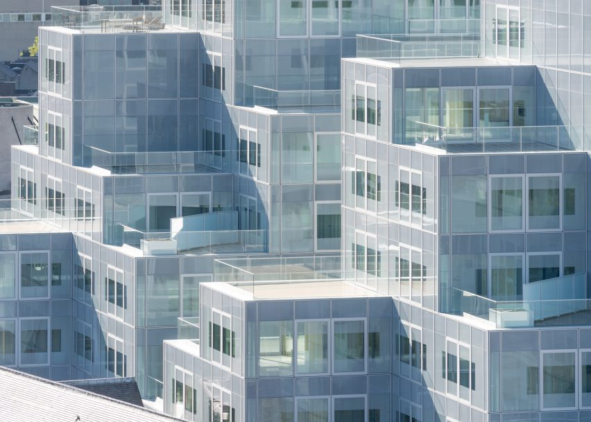 Timmerhuis by OMA, Rotterdam, Netherlands