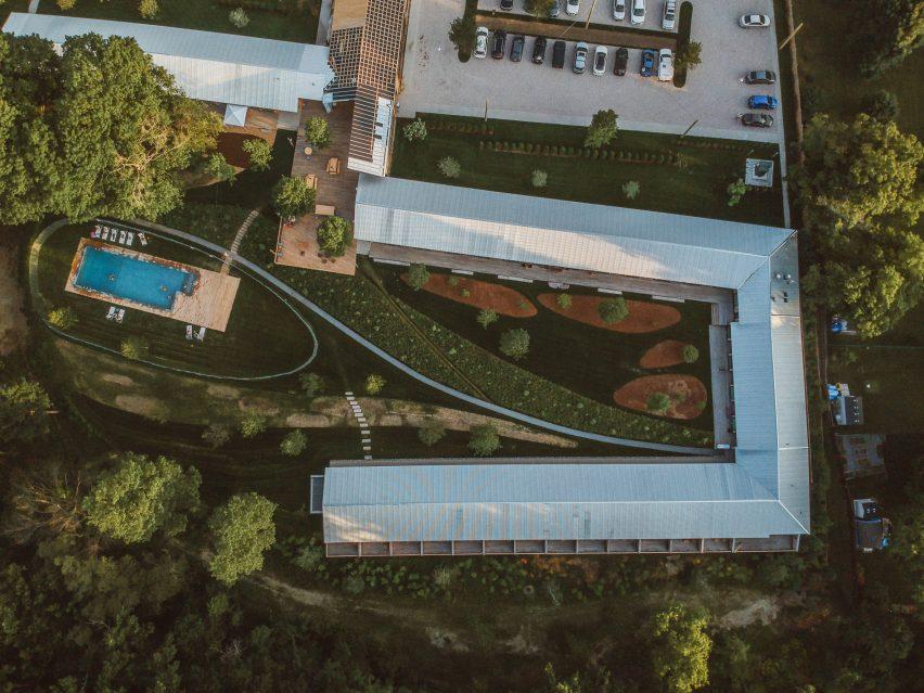 Tourists Hotel by Hank Scollard