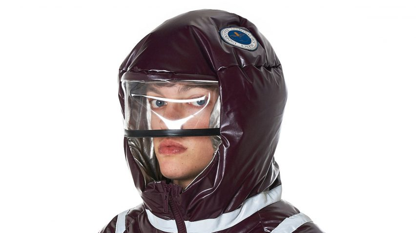 Undercover launches space-themed Astronautics jacket with helmet hood