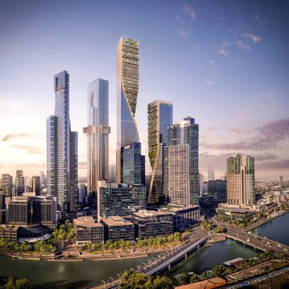 UNStudio and Cox Architecture to design Australia's tallest tower