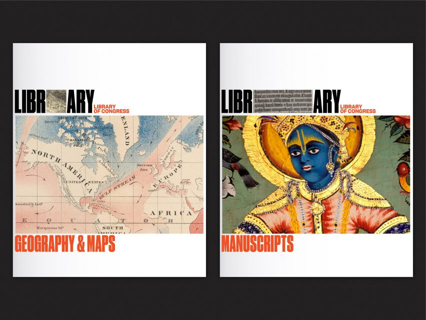 Pentagram's Library of Congress rebrand