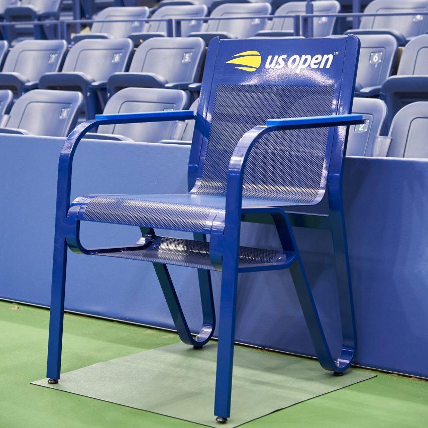 Muebles de Michael Graves para el US Open