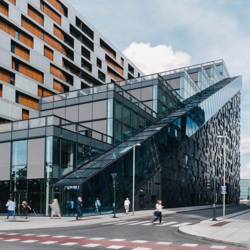 The West Building by Dark Arkitekter, Oslo, Norway