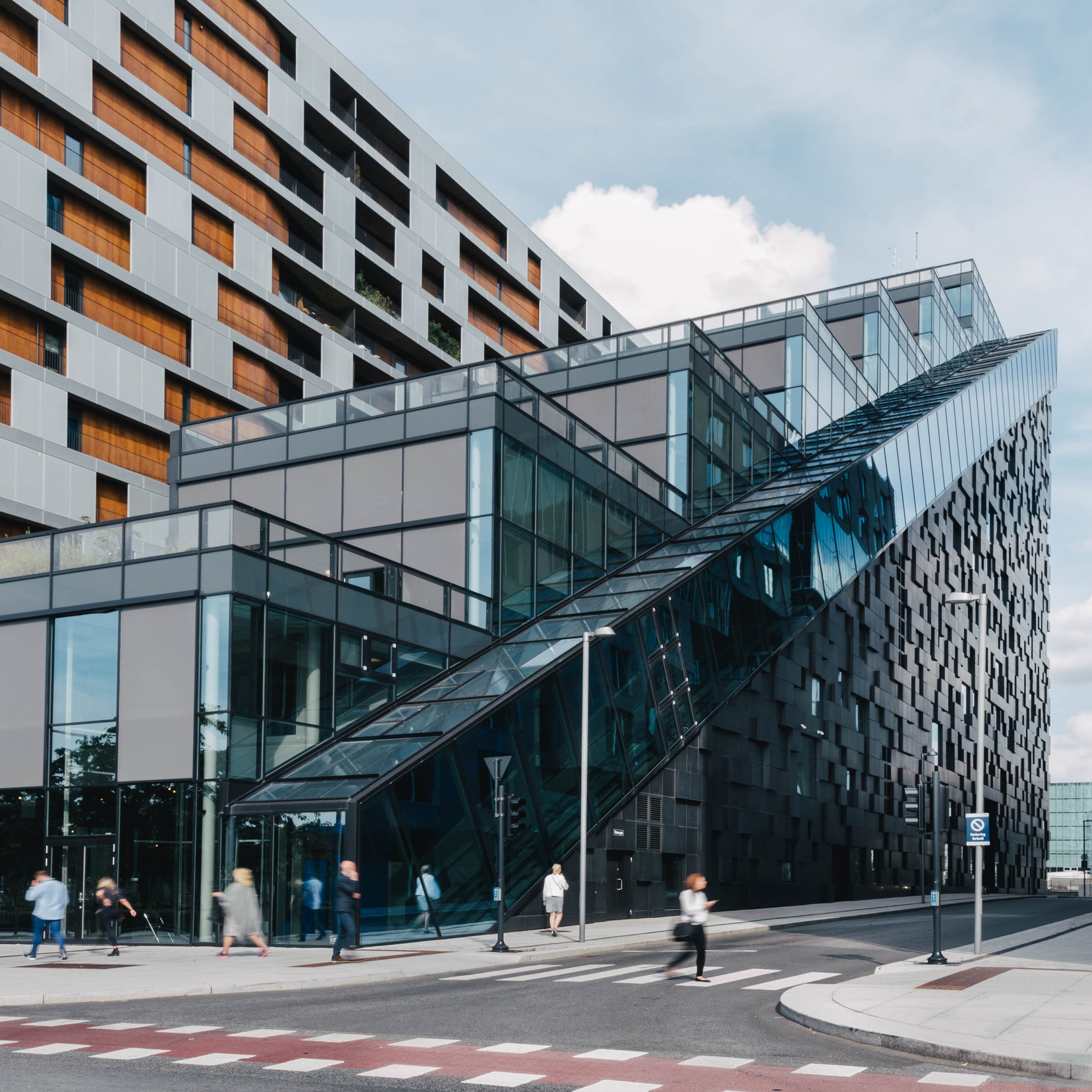 The West Building by Dark Arkitekter, Oslo, Norway