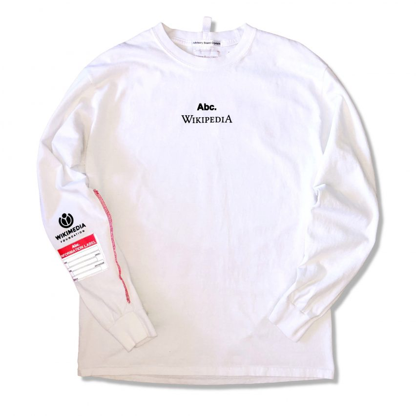 Wikipedia leaks surprising streetwear collaboration