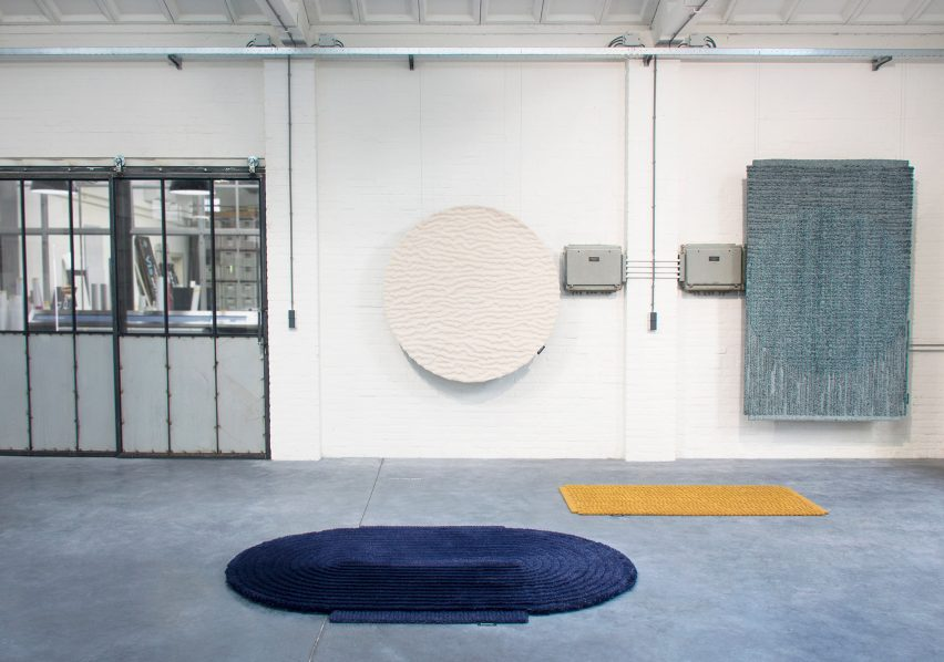 Dutch designers present diverse rug designs in Dutch Stuff show